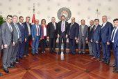 GTB heyetinden Hisarcıklıoğlu'na ziyaret