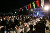 BAŞKAN ŞAHİN, İFTARINI ARABAN'DA YAPTI