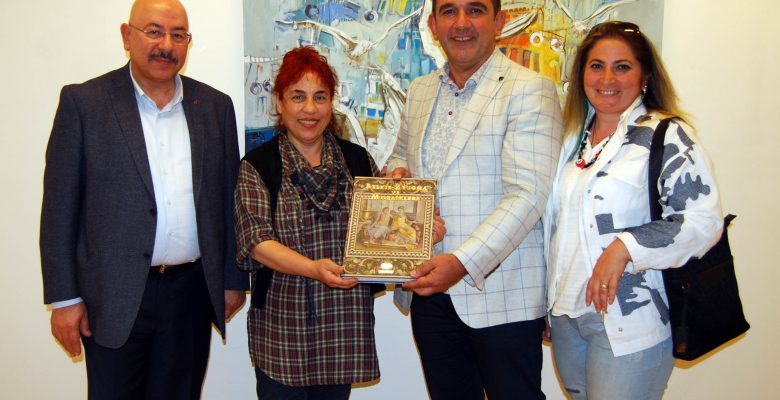TRABZONLU RESSAM GAZİANTEP'TE SERGİ AÇTI