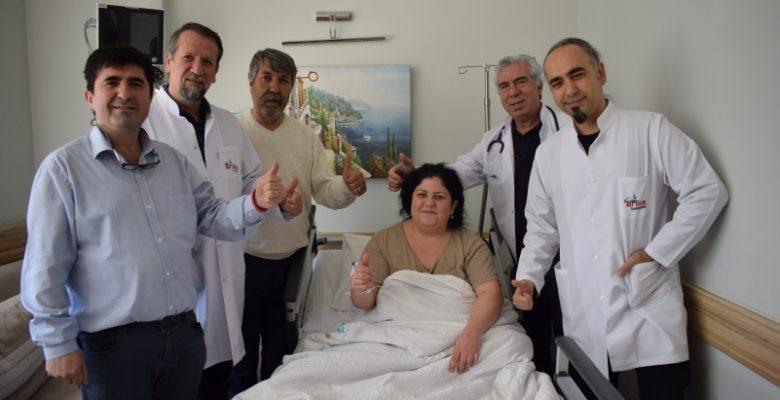 Almanya'dan obezite ameliyatı için Gaziantep'e geldi