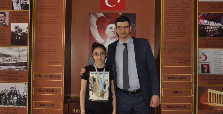 GKV'li Dicle Su Sertpolat İstanbul'damadalyaları topladı