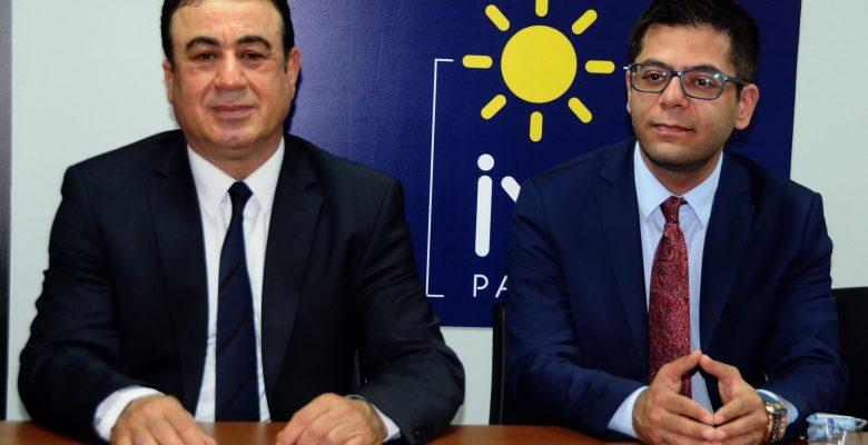 İYİ Parti'de Şahinbey İlçe Başkanı Yılmaz Milletvekili Aday Adayı Oldu