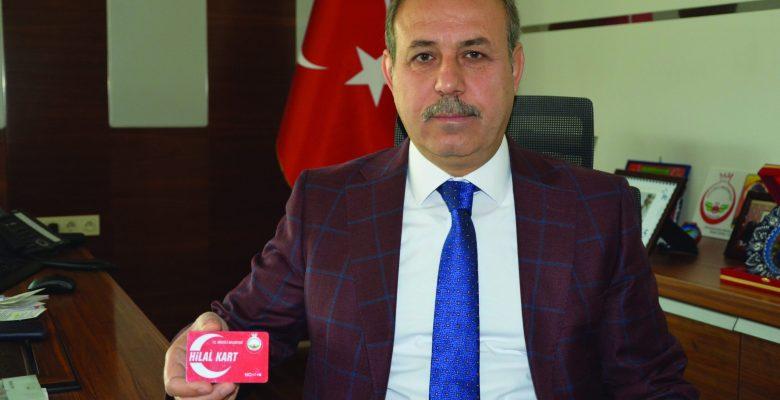 OĞUZELİ BELEDİYESİ'NDEN 'HİLAL KART' PROJESİ