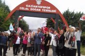 İYİ Parti Hasan Şahin'i protesto etti