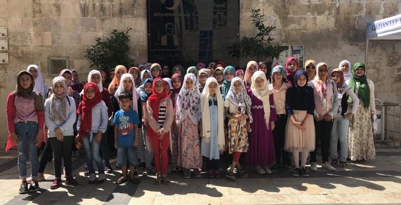 BÜYÜKŞEHİR'DEN KUR'AN-I KERİM KURSUNA KATILAN ÖĞRENCİLERE ÖZEL GEZİ