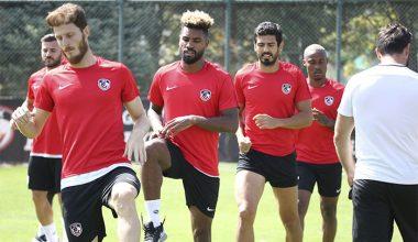 Gaziantep FK, Kasımpaşa maçı hazırlıklarını sürdürdü