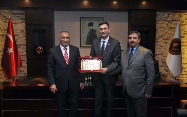 Irak Büyükelçisi ve Başkonsolosu Gso yu Ziyaret Etti