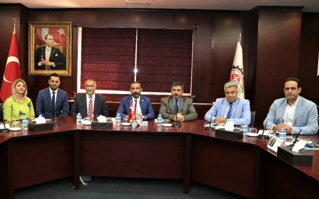 Irak Büyükelçisi ve Başkonsolosu ndan Gto ya Ziyaret