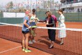 Şahin, 16 Yaş Türkiye Tenis Şampiyonasının Açılışını Yaptı