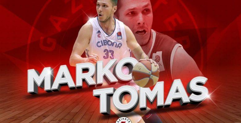 Hırvat şutör Gaziantep Basketbol'da