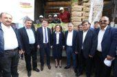 Büyükşehir, Nurdağı İlçesinde Arpa ve Buğday Tohumu Dağıttı