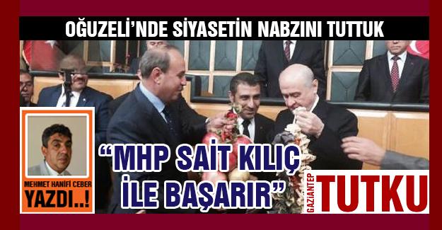 MHP Sait Kılıç ile başarır