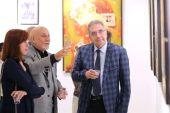 Ressam Aliyev in Eserleri Sergilendi