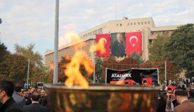 Gaziantep te Atatürk Anıldı