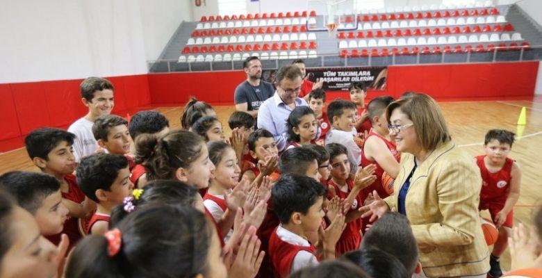 Gaziantep'e 39 adet Spor Alanı
