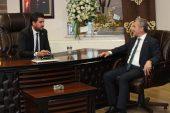 Başkan Tahmazoğlu GGC' yi ziyaret etti.
