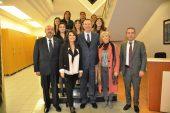 Kadın girişimcilerden Topçuoğlu'na ziyaret