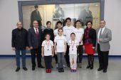 SANKO Okulları'na 7 Kupa