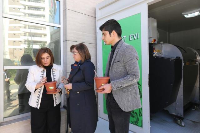 Büyükşehir Belediyesi, Kompost Cihazı Aldı