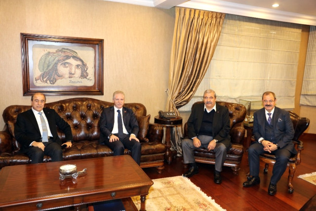 Gaziantep Valisi Davut Gül den Sanko ya İadeyi Ziyaret