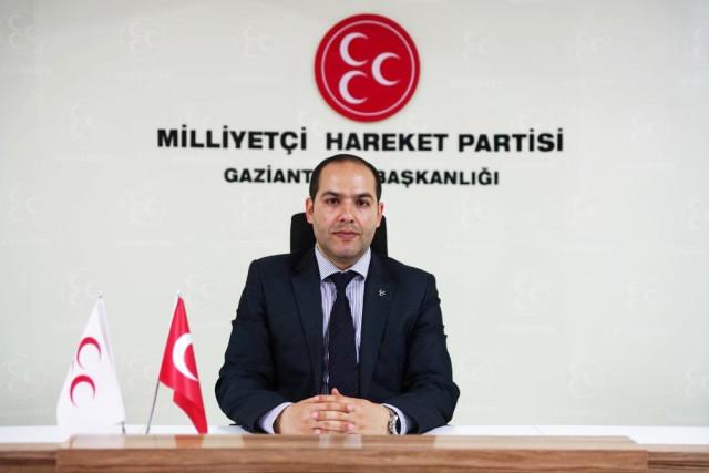 MHP Gaziantep İl Başkanı Çelik ten 25 Aralık Mesajı