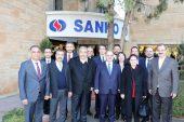 Vakıfbank Yönetiminden SANKO'ya ziyaret
