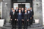 Gaziantep Valisi Davut Gül den Gagiad a Ziyaret