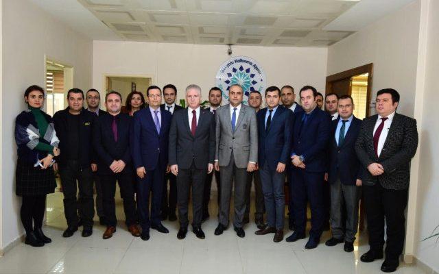 Gaziantep Valisi Davut Gül, İka yı Ziyaret Etti