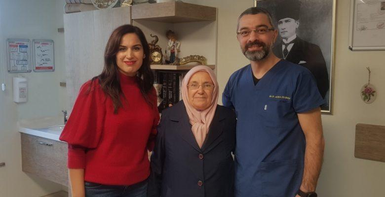 Kolon Kanseri Hastası Hatem'de sağlığına kavuştu
