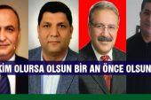 CHP İl Başkanını Bekliyor