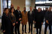 Vali Gül Gaziantepli halıcıları Hannover'e uğurladı