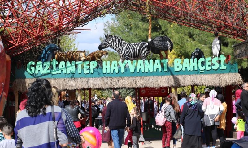 Gaziantep Hayvanat Bahçesi Türkiye'de bir numara
