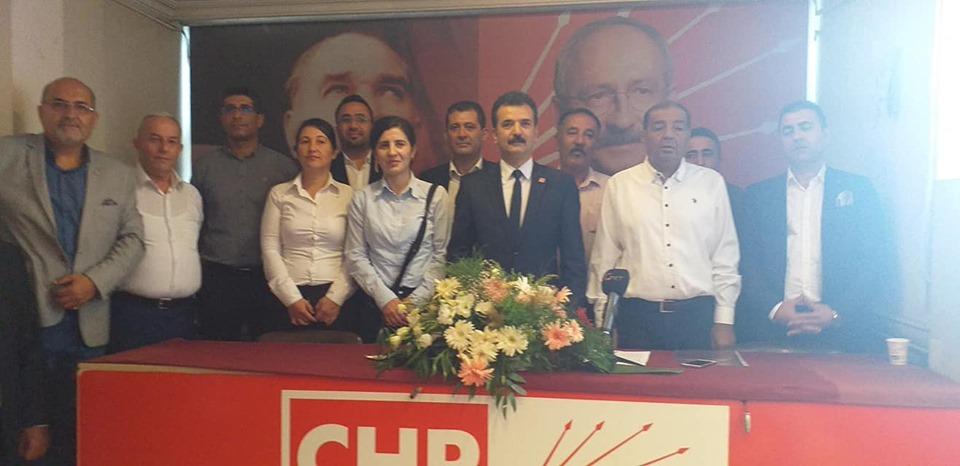CHP  Şahinbey Görev Değişimi Yaptı