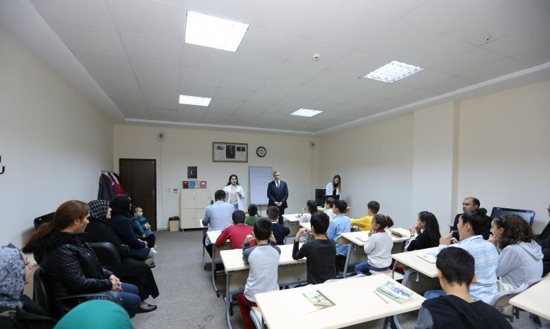 Şahinbey'in kekemelik kursu yoğun ilgi