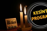 Gaziantep'te yarın Elektrik Olmayan Yerler