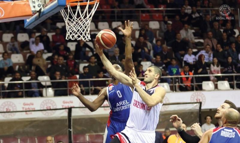 Gaziantep Basketbol Çekmece'yi rahat geçti: 88-73