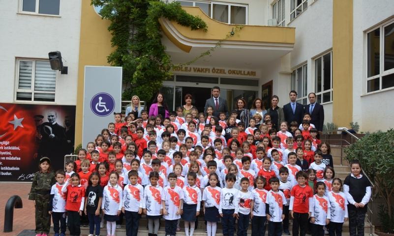 Minik GKV'lilerden Mehmetçik Vakfı'na destek