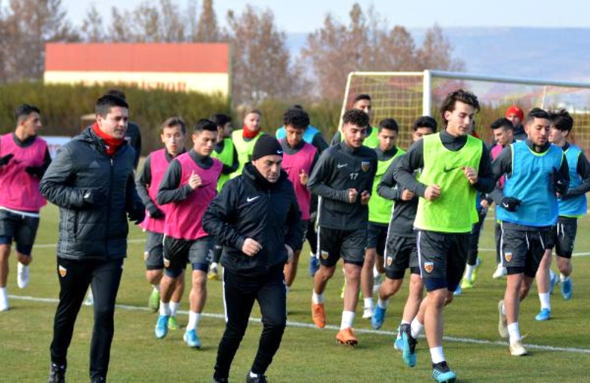 Kayserispor, Gaziantep maçı hazırlıklarına başladı