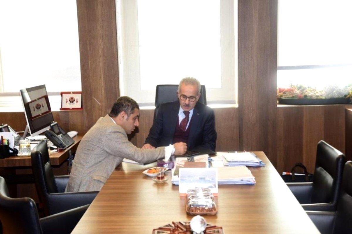 Milletvekili Taşdoğan dan Karayolları Genel Müdürüne ziyaret