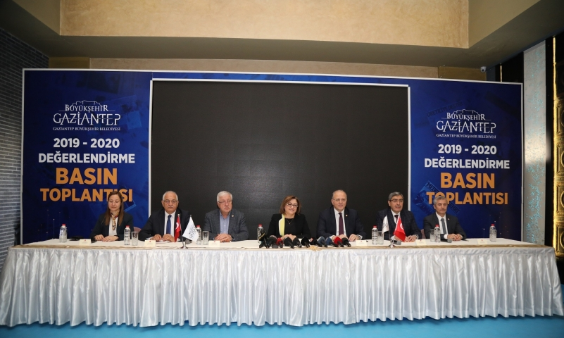 Şahin 2019-2020 yılı projelerini anlattı