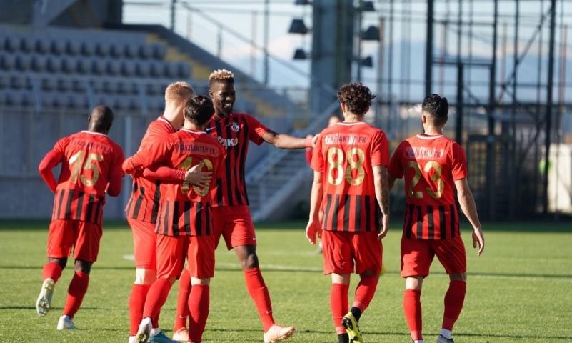 Gaziantep FK'dan İyi Maç: 3-1