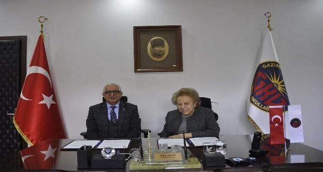 Gaziantep Kolej Vakfı ve HKÜ işbirliği