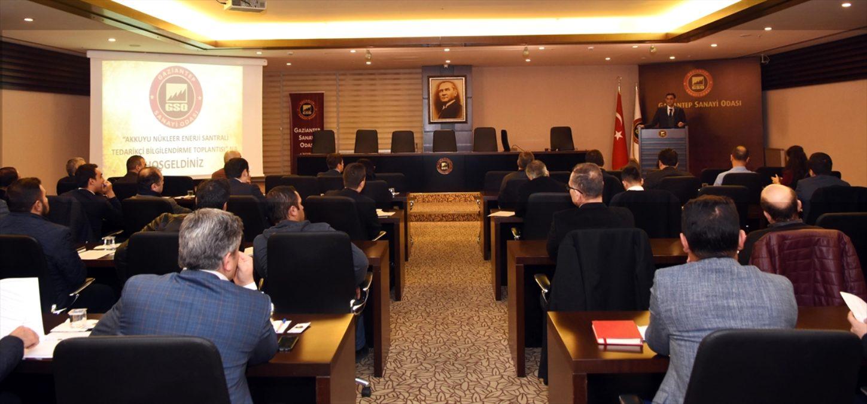 GSO da Akkuyu Nükleer Güç Santrali Tedarikçi Toplantısı yapıldı