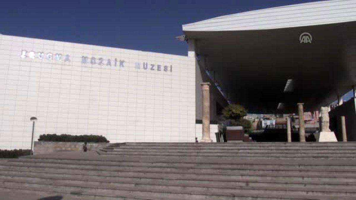 Zeugma Mozaik Müzesi nde