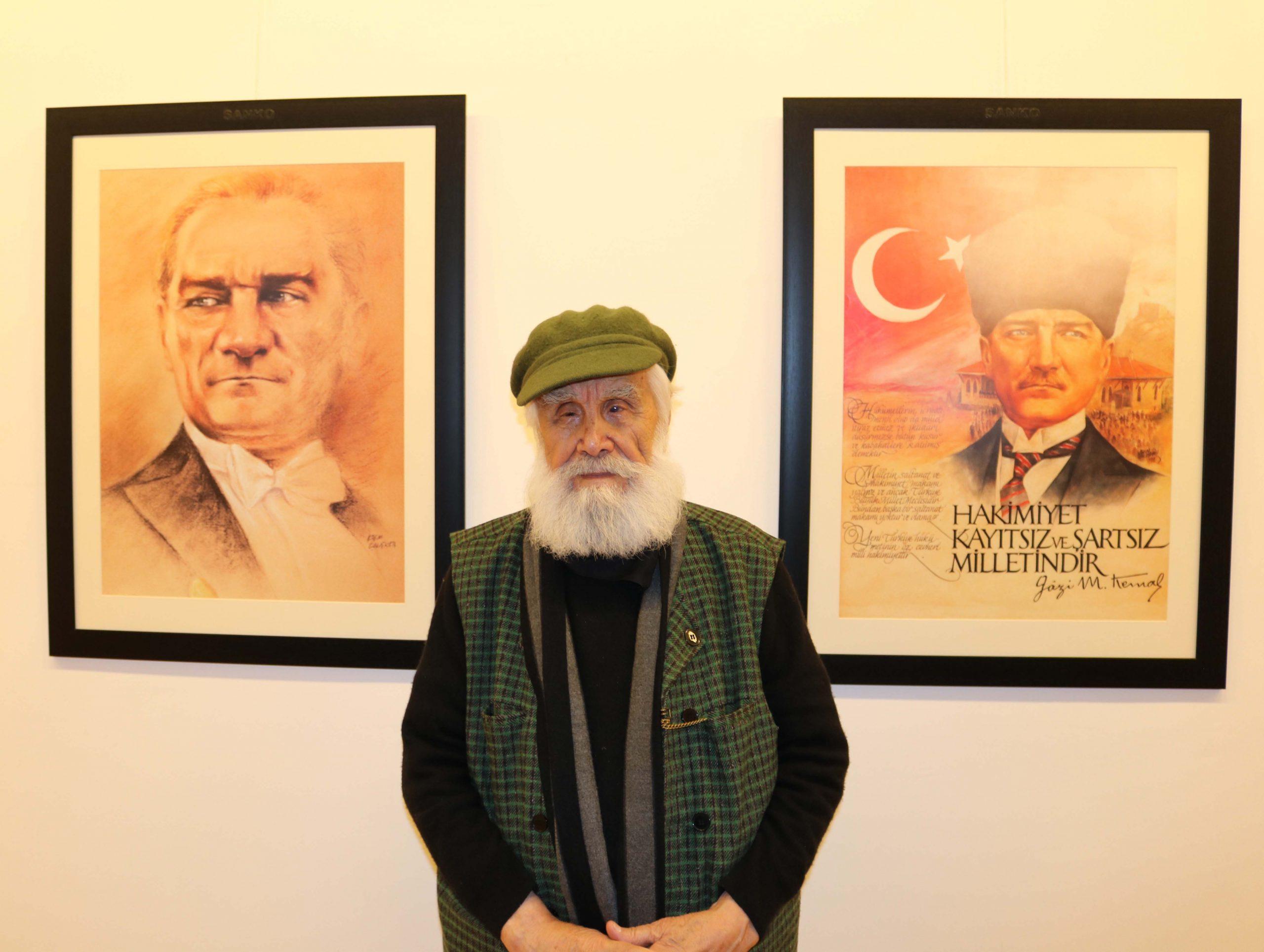 Atatürk Sanal sergisi açıldı