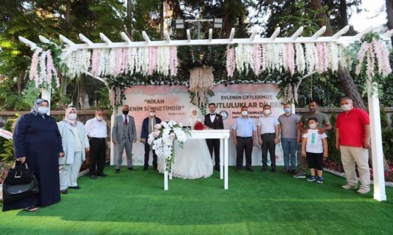 Şahinbey kır nikahlarına başladı
