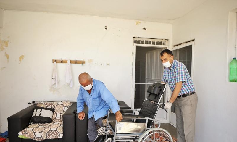 Şehitkamil Belediyesi engelli vatandaşın yüzünü güldürdü