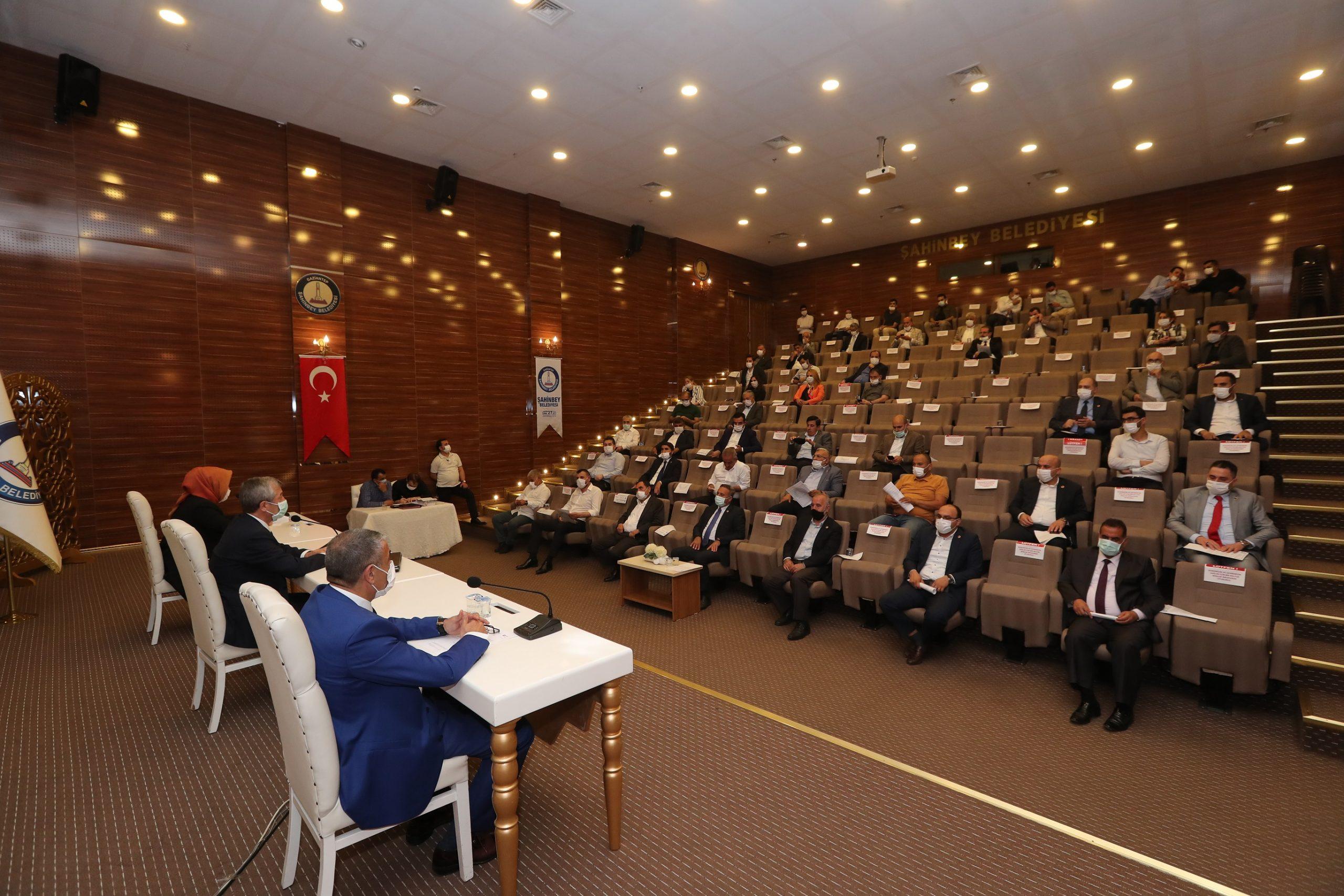 ŞAHİNBEY'DE HAZİRAN AYI MECLİS TOPLANTISI YAPILDI
