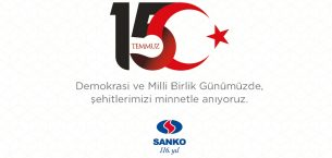 Sanko'dan '15 Temmuz' Kutlama