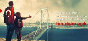 Naksan Holding: 15 Temmuz Demokrasi ve Milli Birlik Günü kutlu olsun..